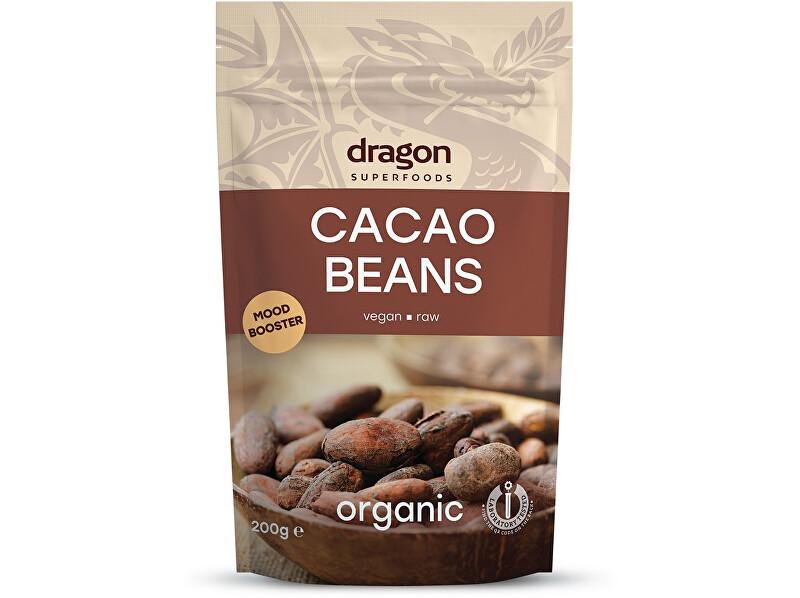 Zobrazit detail výrobku Dragon superfoods Bio Kakaové boby celé nepražené 200g