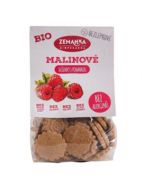 Zobrazit detail výrobku Biopekárna Zemanka Bio Krtkovy malinové sušenky 100 g