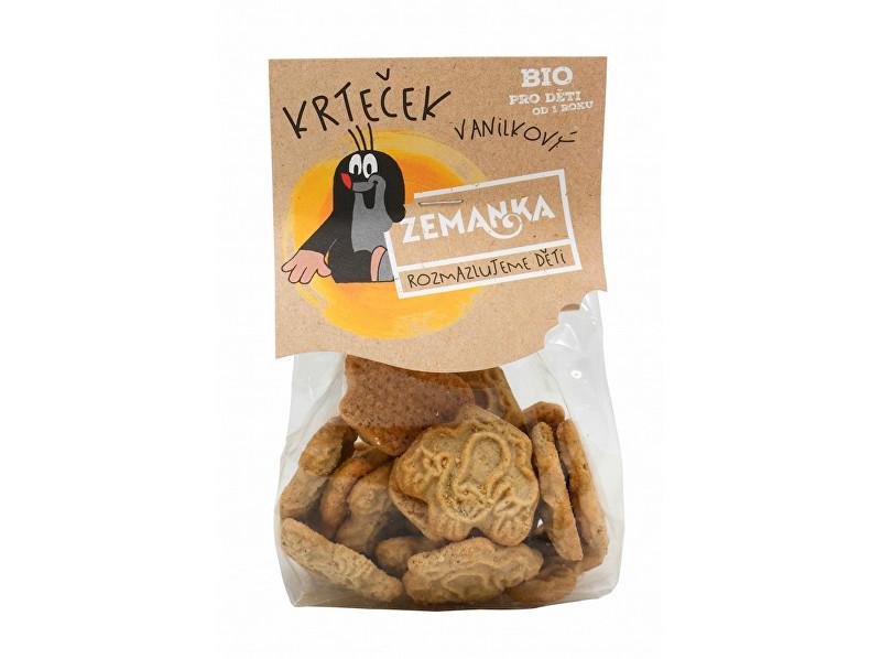 Zobrazit detail výrobku Biopekárna Zemanka Bio Krtkovy vanilkové sušenky 100 g
