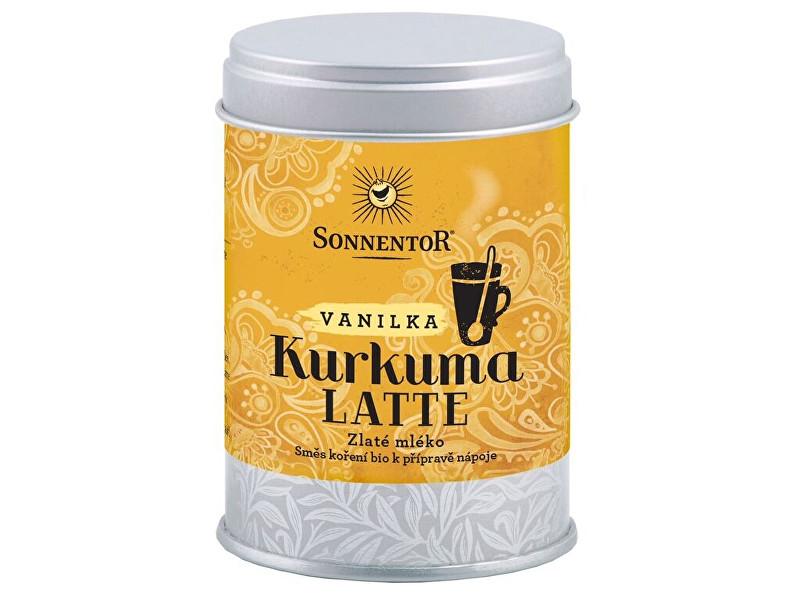 Bio Kurkuma Latte-vanilka 60 g dózička ( Pikantní kořeněná směs )