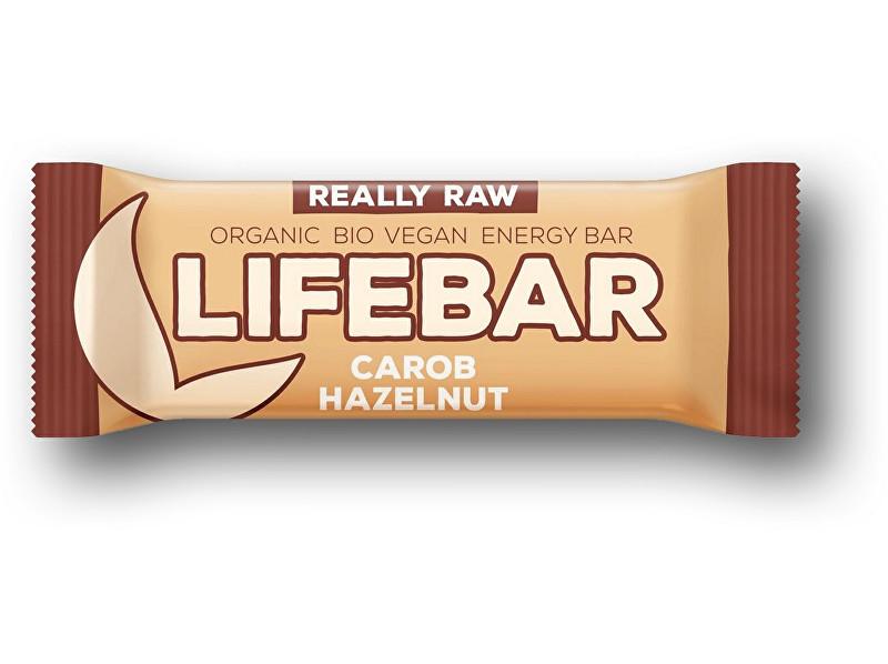 Zobrazit detail výrobku Lifefood Bio tyčinka Lifebar karobová s lískovými oříšky 47g