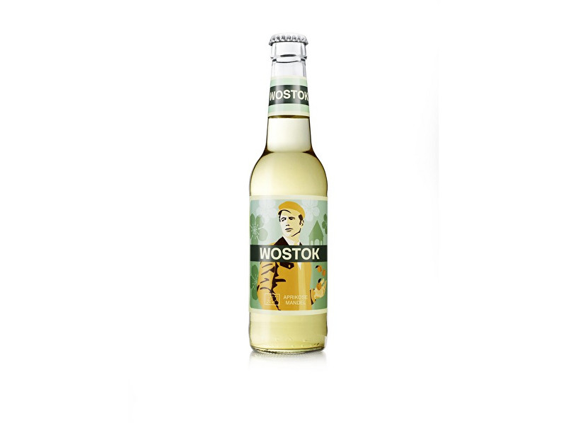 Zobrazit detail výrobku WOSTOK Limonáda Bio Wostok meruňka a mandle 0,33l