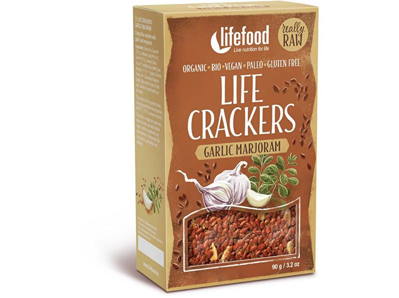 Lifefood Bio Life Crackers á la bramborák RAW 90g