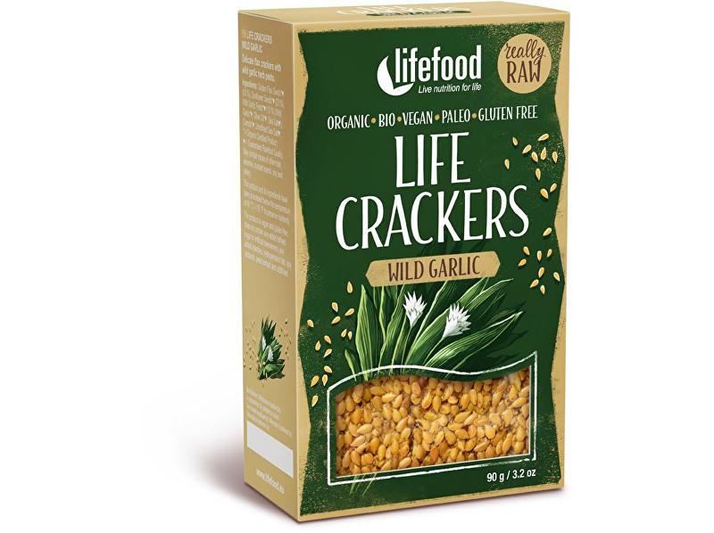Zobrazit detail výrobku Lifefood Bio Life crackers s medvědím česnekem 90g