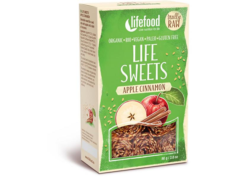 Zobrazit detail výrobku Lifefood Bio Life sweets Jablečné se skořicí 80g