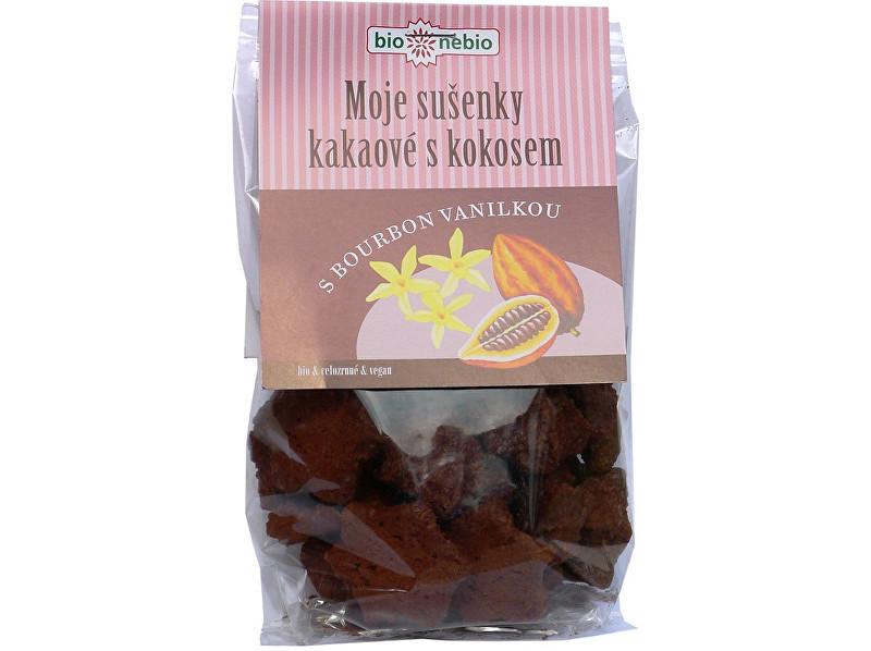Zobrazit detail výrobku Bio nebio s. r. o. Bio Moje sušenky kakaové s kokosem 130g