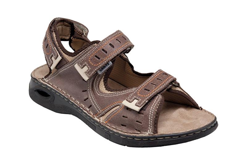SANTÉ Zdravotní obuv pánská N/158/32/59 hnědá 45