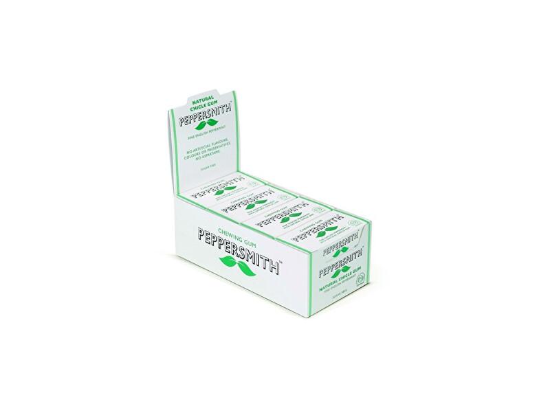 Peppersmith Peppersmith žvýkačka - Máta kartonové balení 12ks