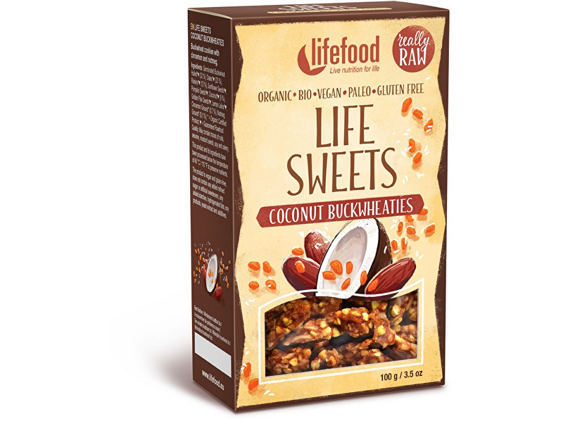 Zobrazit detail výrobku Lifefood Bio Life sweets pohánky kokosové 100g