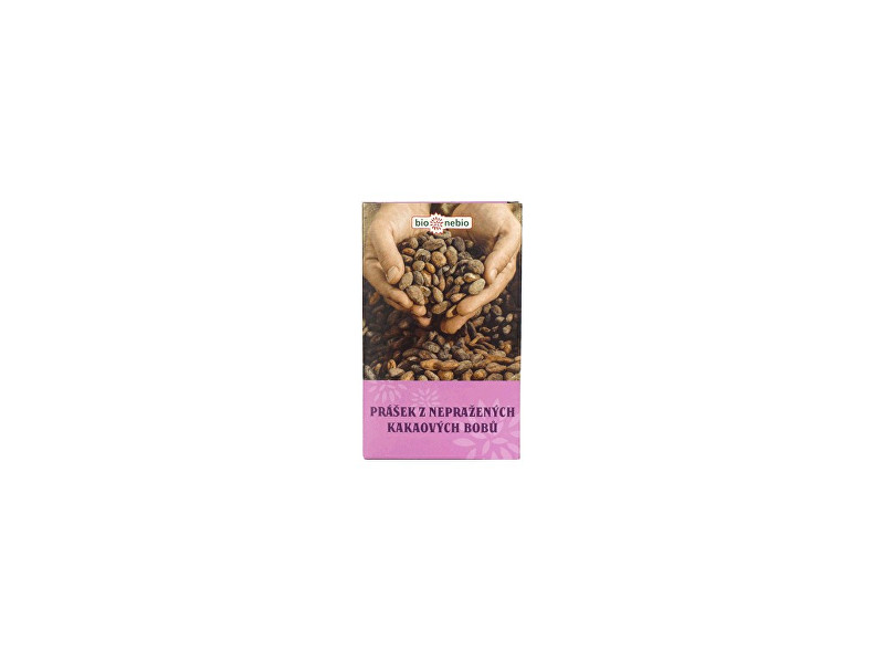 Zobrazit detail výrobku Bio nebio s. r. o. Bio Prášek z nepraženého kakaa 150g