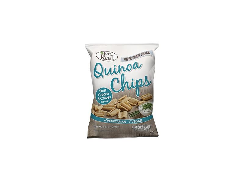 Zobrazit detail výrobku EatReal Quinoa chipsy – smetana a pažitka 30g
