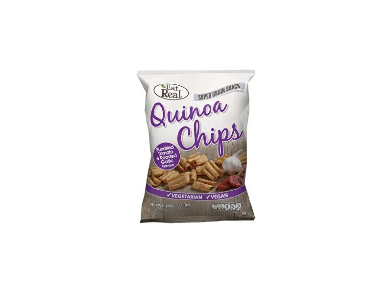 Zobrazit detail výrobku EatReal Quinoa chipsy – sušené rajče a restovaný česnek 30g