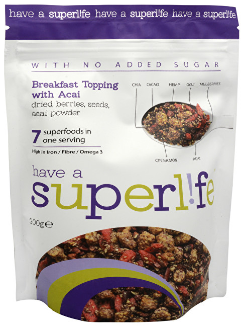 Superlife Superlife 7Breakfast + Acai 300 g