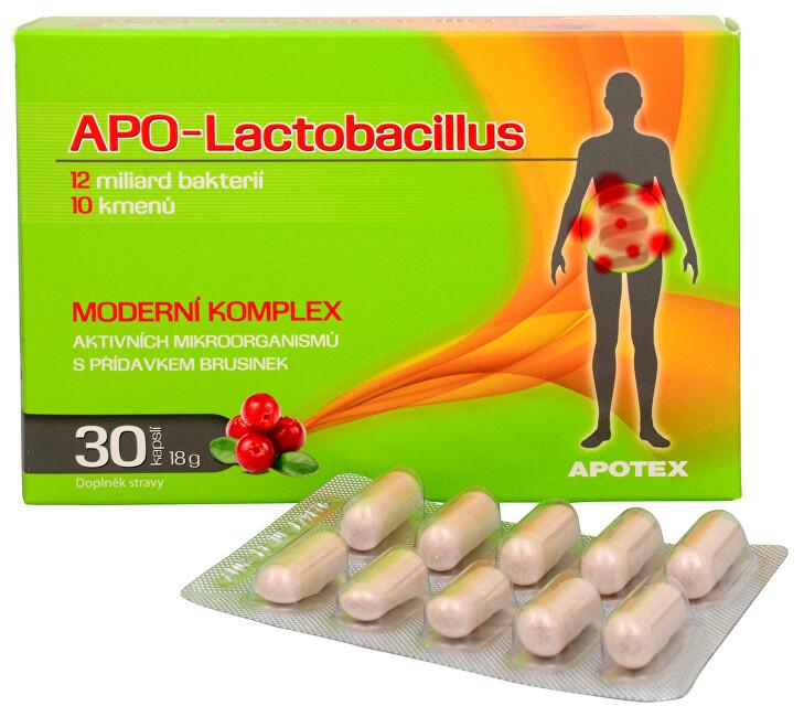 Zobrazit detail výrobku Apotex APO-Lactobacillus 30 kapslí