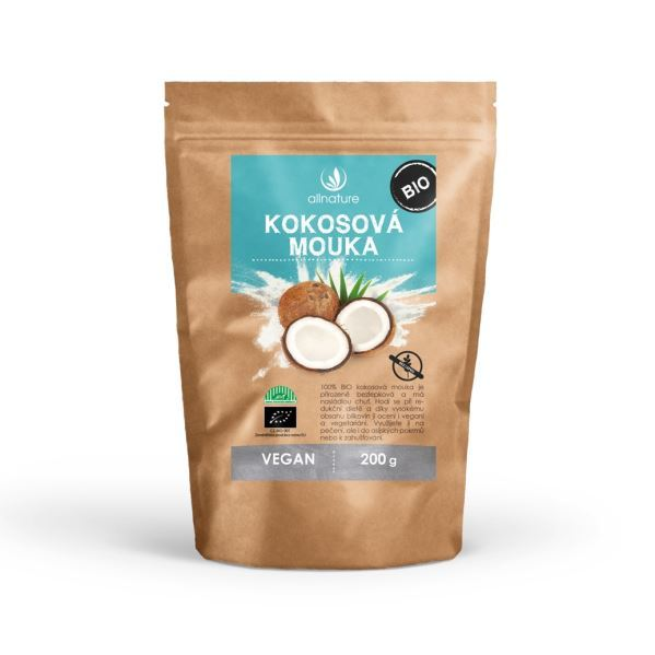 BIO Kokosová mouka 200 g