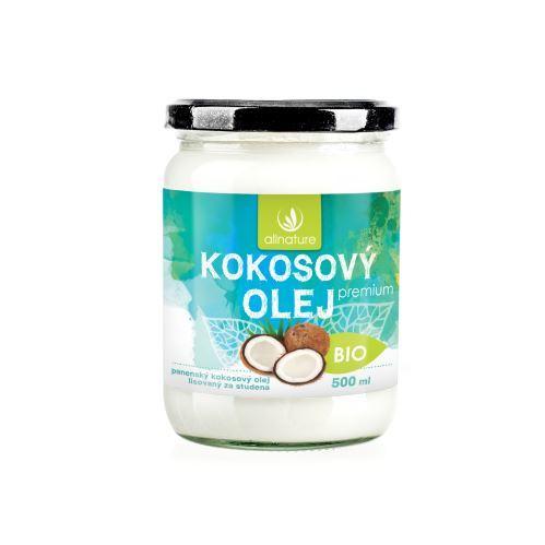 Zobrazit detail výrobku Allnature BIO kokosový olej Premium 500 ml