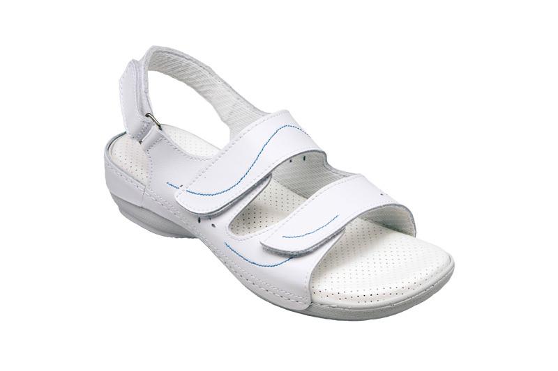 Zobrazit detail výrobku SANTÉ Zdravotní obuv Profi dámská N/124/2/10/B bílá vel. 42