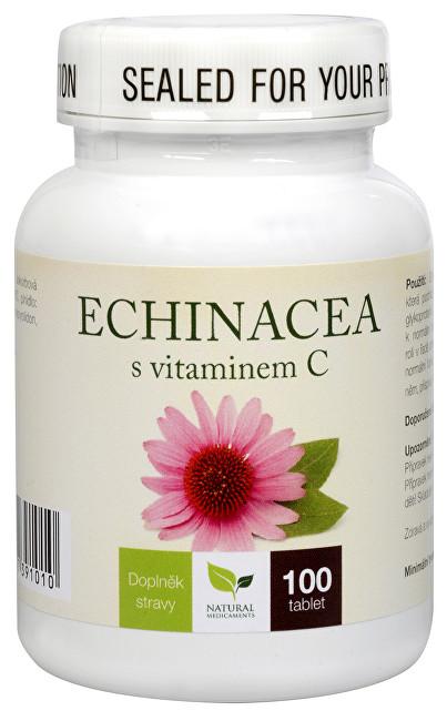 Echinacea s vitamínem C 100 tbl.