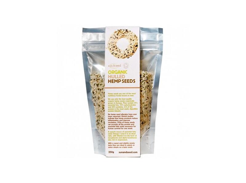 Zobrazit detail výrobku Sun and Seed Bio Loupaná konopná semínka raw 250g