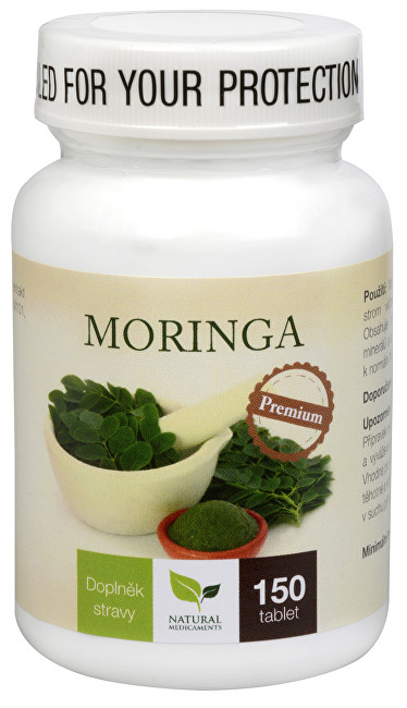 Zobrazit detail výrobku Natural Medicaments Moringa Premium 150 tbl.