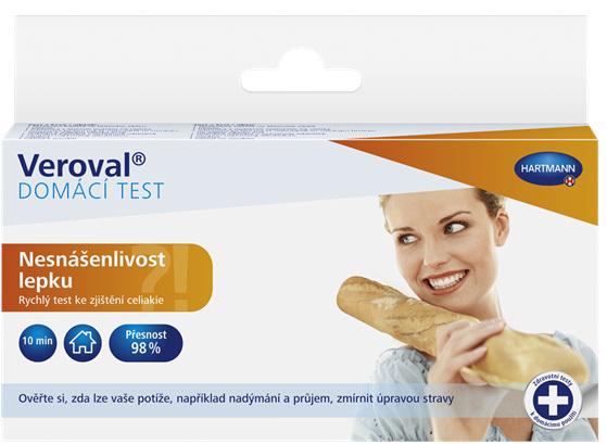 Zobrazit detail výrobku Veroval Nesnášenlivost lepku domácí test