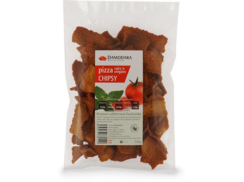 Zobrazit detail výrobku Damodara Pizza chipsy (rajče oregáno) 100g