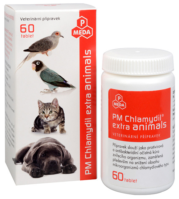 PM Chlamydil extra animals 60 tbl.