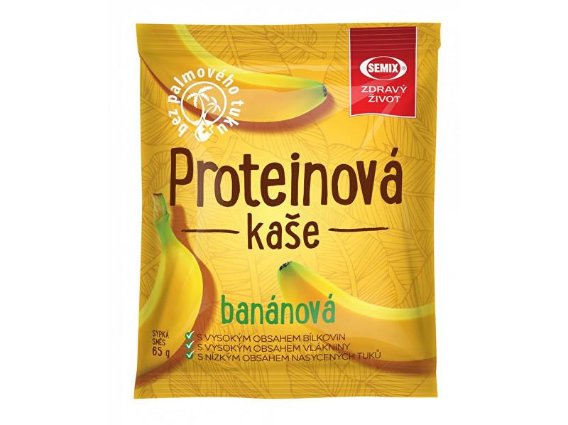 Zobrazit detail výrobku Semix Proteinová kaše banán 65g
