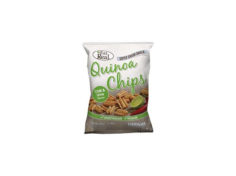 EatReal Quinoa chipsy – chilli a limetka 30g
