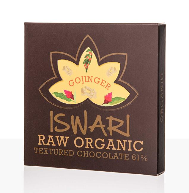 Zobrazit detail výrobku Iswari Raw čokoláda - Gojinger 75 g BIO