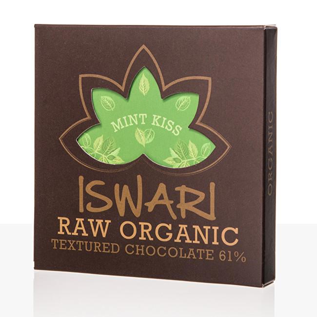 Zobrazit detail výrobku Iswari Raw čokoláda - Mint Kiss 75 g BIO