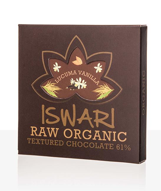 Zobrazit detail výrobku Iswari Raw čokoláda - Vanilla-Lucuma 75 g BIO