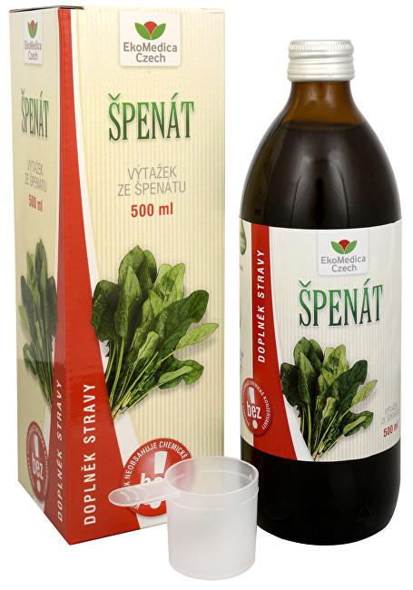 Špenát - výtažek ze špenátu 500 ml