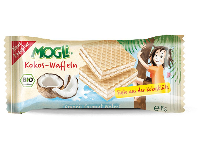 Zobrazit detail výrobku MOGLI Bio tyčinka kokosová bez cukru 25g