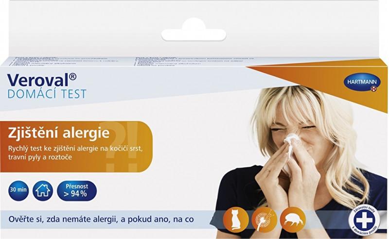 Zjištění alergie domácí test