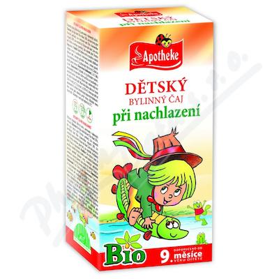 MEDIATE S.R.O. Apotheke Dětský čaj BIO nachlazení 20x1.5g n.s.