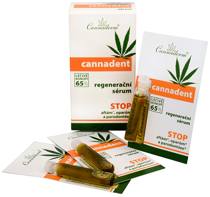 Cannadent sérum 10 x 1,5 ml