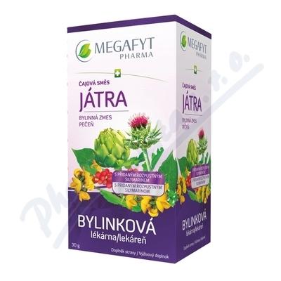 Zobrazit detail výrobku MEGAFYT PHARMA S.R.O. , VRANÉ NAD VLTAVOU Megafyt Bylinková lékárna Čaj.směs Játra 20x1.5g