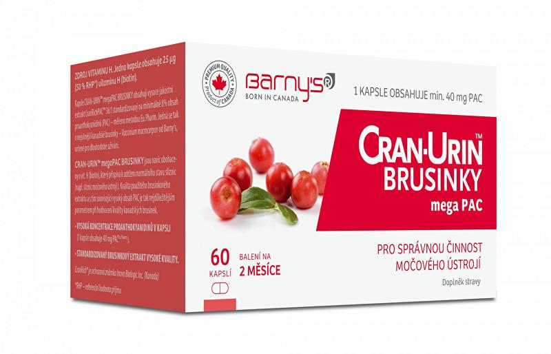 Zobrazit detail výrobku Barny´s Barny´s Cran-Urin megaPAC brusinky 60 kapslí