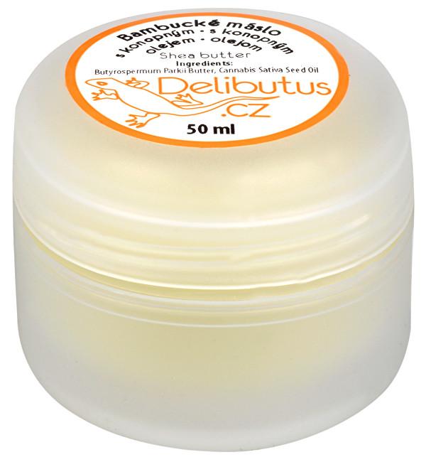 Bambucké máslo s konopným olejem 50 ml