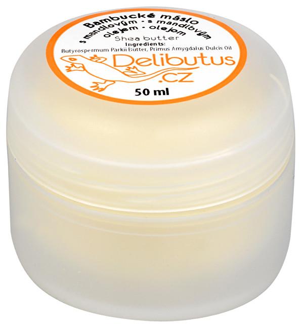 Zobrazit detail výrobku Delibutus Bambucké máslo s mandlovým olejem 50 ml