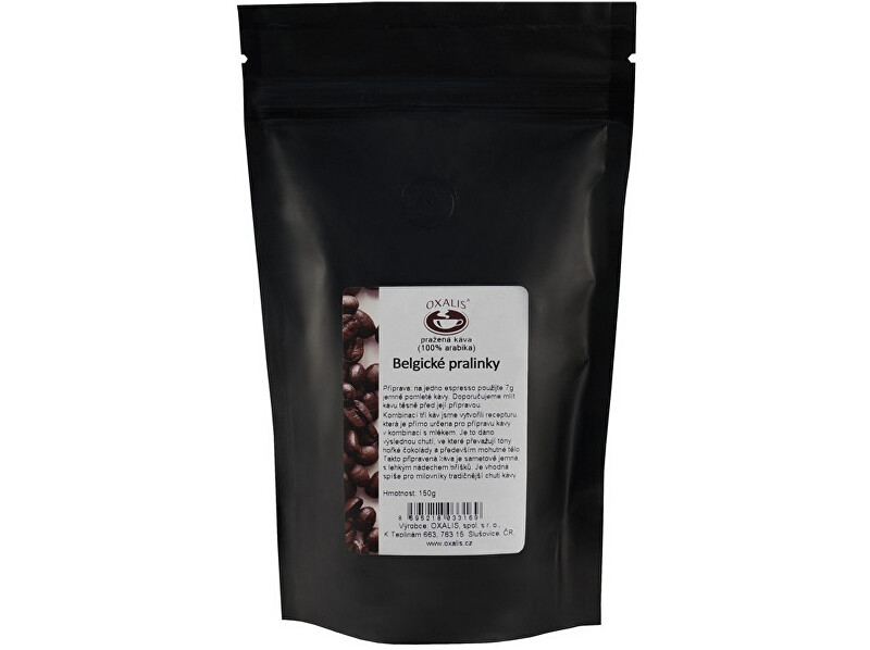 Zobrazit detail výrobku OXALIS Belgické pralinky bez kofeinu 150 g