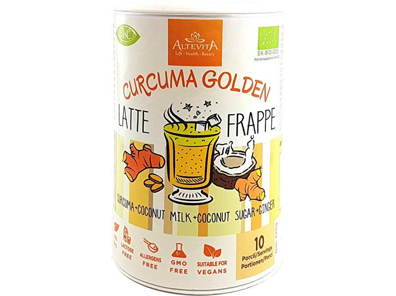 Altevita Bio curcuma golden latte/frappe 220g