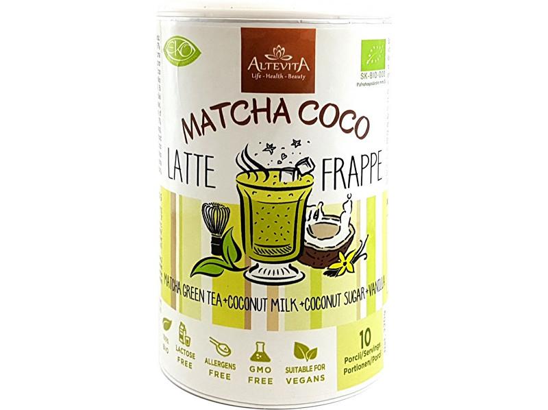 Zobrazit detail výrobku Altevita Bio Matcha coco latte/frappe 220g