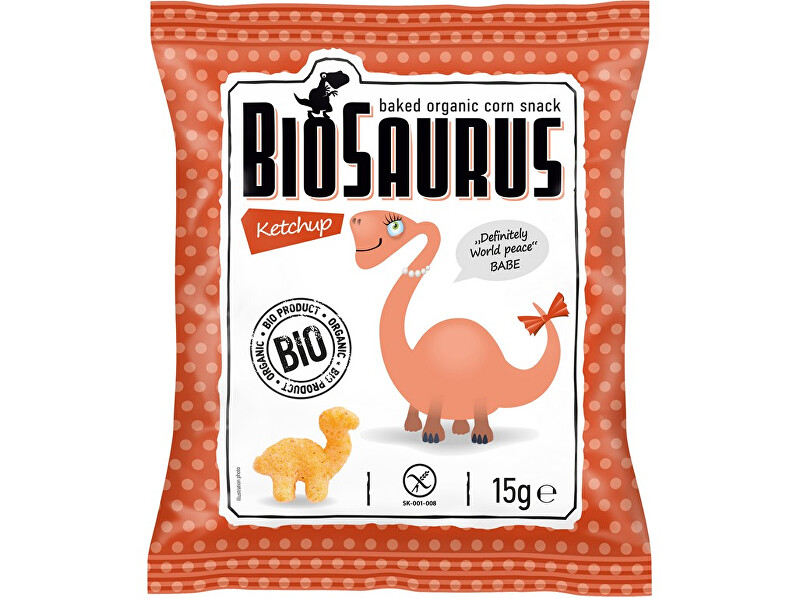 Zobrazit detail výrobku Biosaurus Bio křupky s kečupem 15g