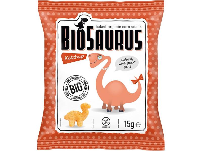 Biosaurus Bio křupky s kečupem 15g
