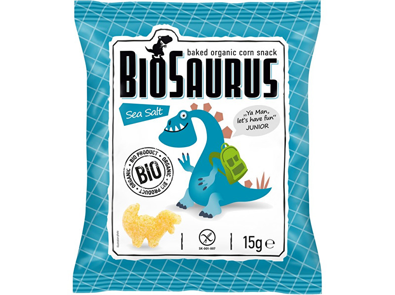 Biosaurus Bio křupky slané 15g