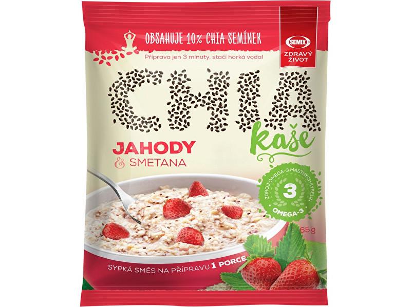 Zobrazit detail výrobku Semix Chia kaše jahody a smetana 65g