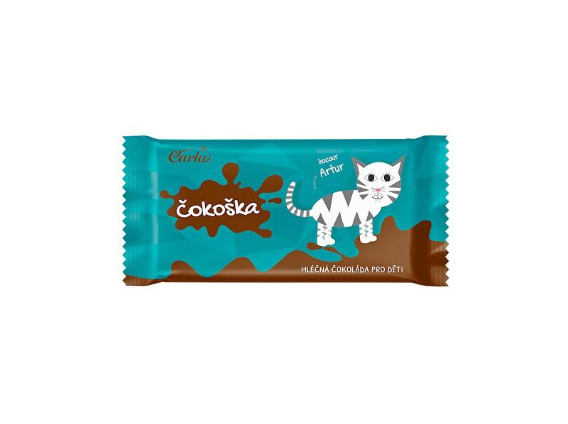 Zobrazit detail výrobku Carla Čokoška - mléčná čokoláda pro děti 20g