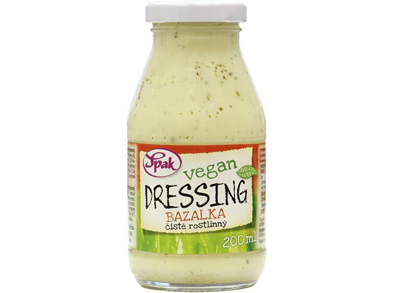 Zobrazit detail výrobku Spak Dressing Vegan Bazalka 200 ml